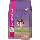 EUKANUBA PUPPY  ALL BREEDS AGNELLO E RISO 1 KG