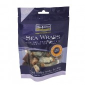 FISH4DOGS SEA WRAPS SWEET POTATO & FISH SKIN 100 gr