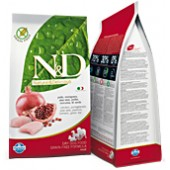 N&D GRAIN FREE POLLO E MELOGRANO MINI ADULT