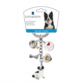 LITTLE GIFTS PORTACHIAVI BORDER COLLIE