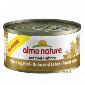 ALMO NATURE CAT CLASSIC POLLO E FEGATINI 70 GR