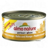 ALMO NATURE CAT CLASSIC JELLY POLLO E MANGO 70 GR