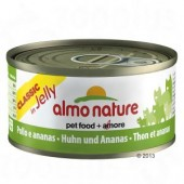 ALMO NATURE CAT CLASSIC JELLY POLLO E ANANAS 70 GR