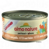 ALMO NATURE LEGEND KITTEN CON POLLO 70 GR