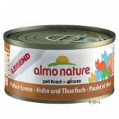 ALMO NATURE CAT LEGEND POLLO E TONNO 70 GR