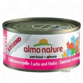 ALMO NATURE CAT LEGEND SALMONE E POLLO 70 GR