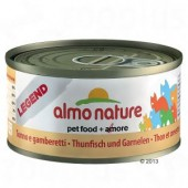 ALMO NATURE CAT LEGEND TONNO E GAMBERETTI 70 GR
