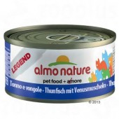 ALMO NATURE CAT LEGEND TONNO E VONGOLE 70 GR
