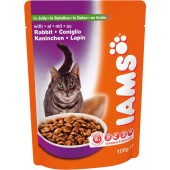IAMS CAT ADULT IN GELATINA  100 Gr