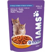 IAMS KITTEN & JUNIOR BOCCONCINI
