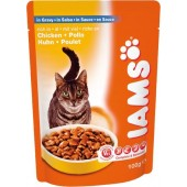 IAMS CAT  ADULT IN SALSA 100 GR