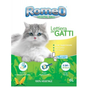 ROMEO LETTIERA VEGETALE A BASE DI MAIS
