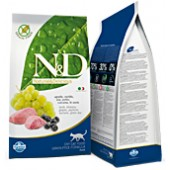 N&D GRAIN FREE ADULT CAT AGNELLO E MIRTILLO