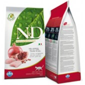 N&D GRAIN FREE ADULT CAT POLLO E MELOGRANO