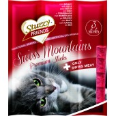 STUZZY FRIENDS CAT SWISS MOUNTAIN X3