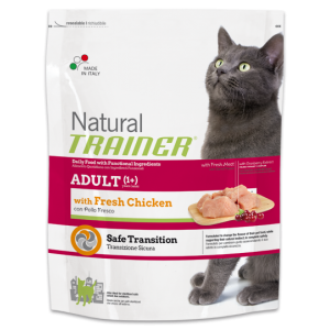 TRAINER NATURAL CAT ADULT POLLO FRESCO 1,5 KG