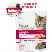 TRAINER NATURAL KITTEN 300 GR + MOUSSE IN OMAGGIO