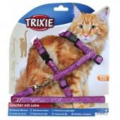 TRIXIE PETTORINA CON GUINZAGLIO MY KITTY DARLING XL