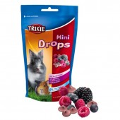 TRIXIE MINI DROPS FRUTTI DI BOSCO 75 GR